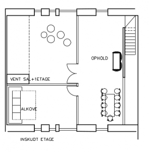 Fælleshus; 1. sal (100 kvm) - House Arkitekter